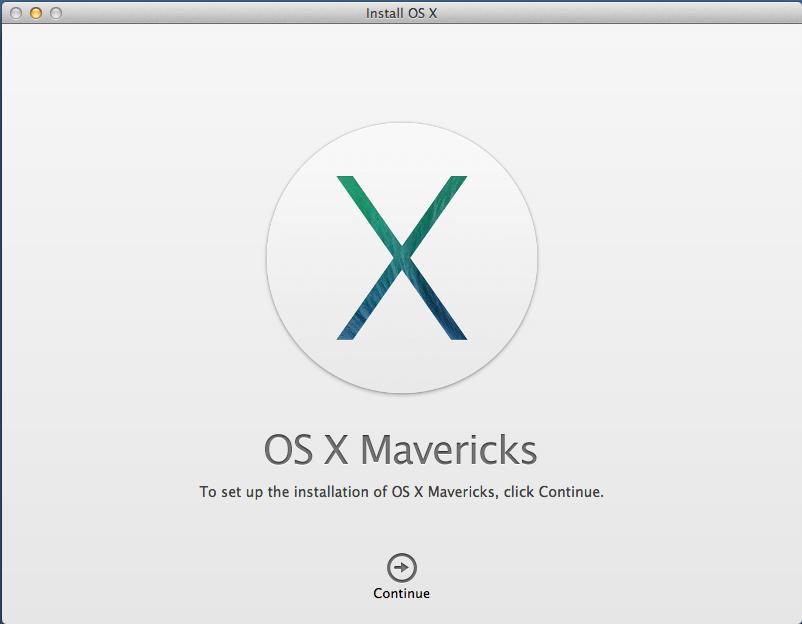 Step by Step Install Mac OS X 10.9 Mavericks