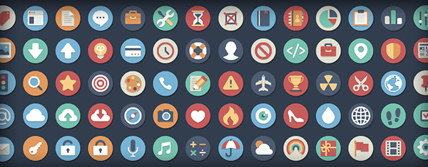 Elegantthemes: Beautiful Flat Icons