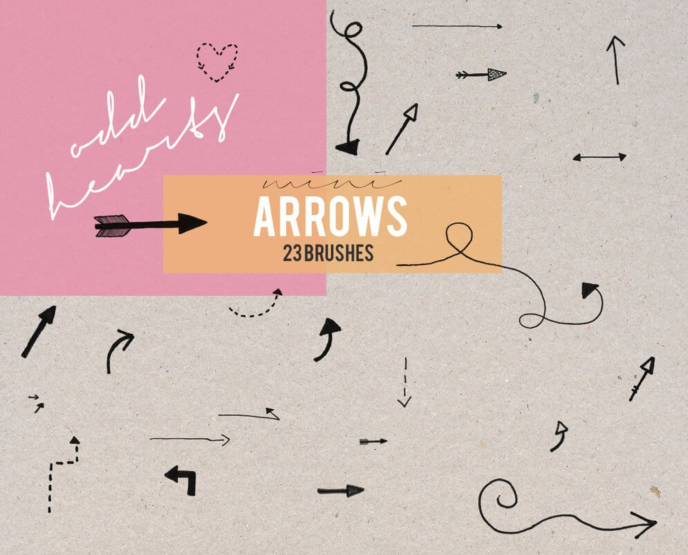 mini_arrows___brushes_by_oddhearts-d4961fn