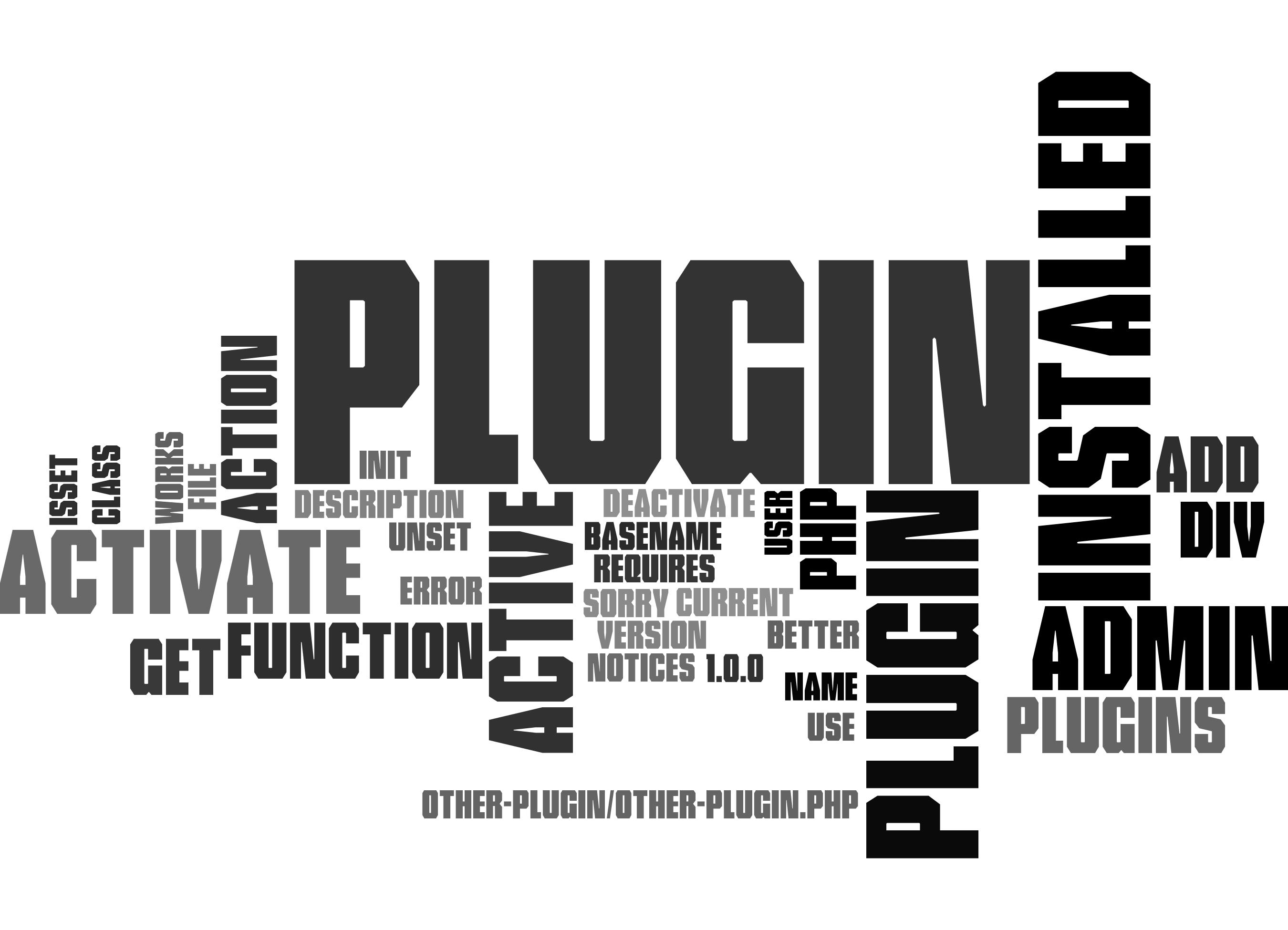 WordPress: Plugin Require Another Plugin Installed