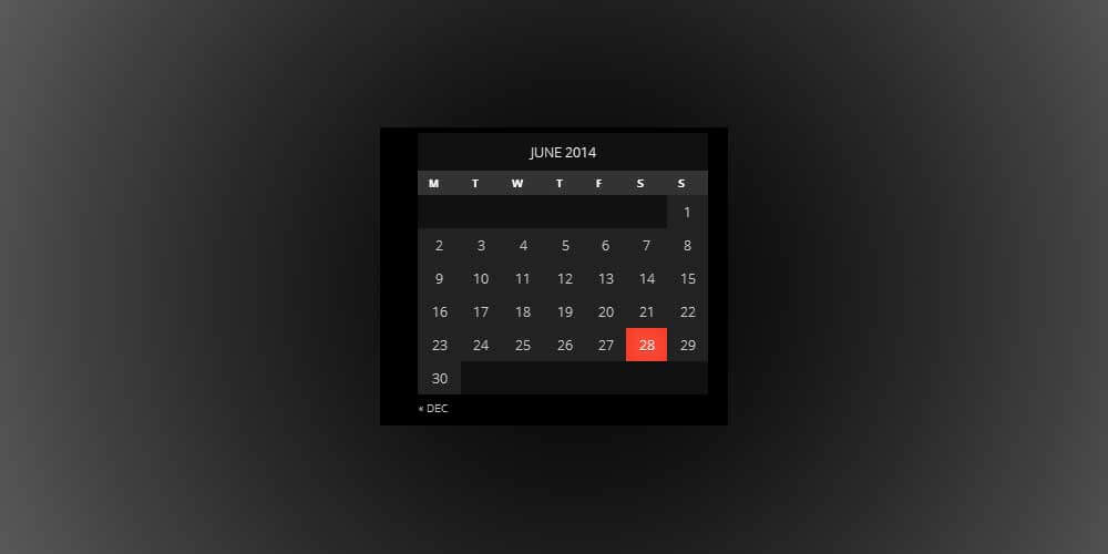 wordpress-calendar-widget
