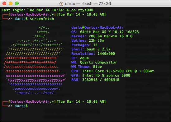 macOS: Mempercantik Terminal.app