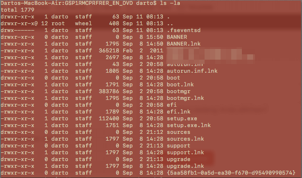 macOS: Menampilkan File atau Folder Yang Disembunyikan oleh Virus di Flash Disk